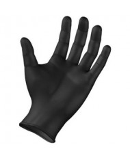 SEMPERFORCE® BLACK NITRILE GLOVES (100/BOX)