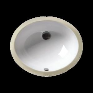 Oval Bowl Porcelain Undermount Sink-0