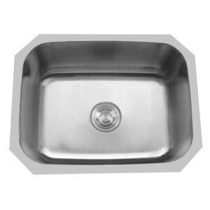 Single Bowl Undermount Stainless Steel Sink-0