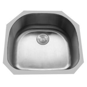 Single Bowl Undermount Stainless Steel Sink -0