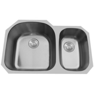 Double Bowl Undermount Stainless Steel Sink -0
