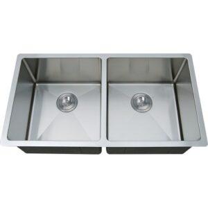 Double Bowl Undermount Handmade Sink ZP5050HMR-0