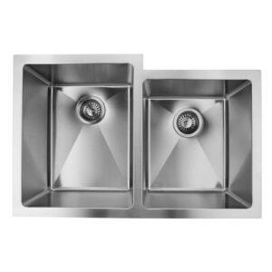Double Bowl Undermount Handmade Sink ZP6040HMR-0