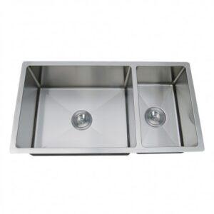Double Bowl Undermount Handmade Sink ZP7030HMR-0
