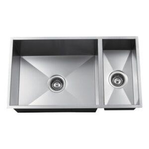 Double Bowl Undermount Handmade Sink ZP7030HMZ-0